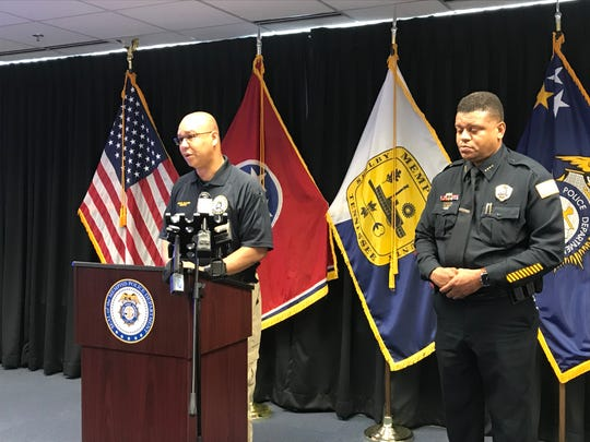 Memphis Police Director Mike Rallings speaks during a press conference in light of a mass shooting in El Paso, Texas and days after a shooting in Southaven at a Walmart.