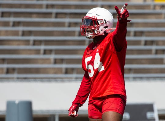 "Linebacker Chris Orr is ready to lead a ""nasty defense"" for the Badgers this season."