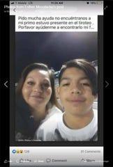 Javier Rodriguez, 15, of El Paso.