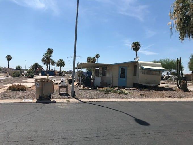 Roadrunner Lake Resort near Scottsdale, Ariz., on Aug. 3, 2019.