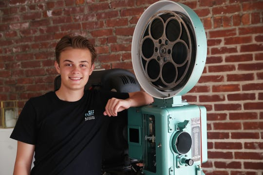 Andrew Moore is an upcoming senior at Pleasantville High School who works at the Jacob Burns Film Center in Pleasantville.
