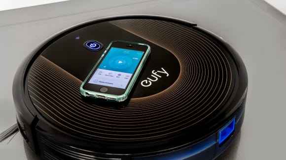You can control this robot vacuum all from the Eufy app.