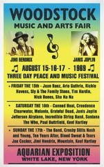 The first-ever Woodstock Music and Arts Fair ran Aug. 15-18, 1969.
