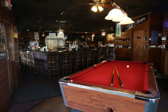 Interior of Nip-n-Tuck Bar & Grill, a beloved Long Branch-based bar, grill and packaged goods establishment that's been in business for over 55 years, in Long Branch, NJ Monday August 5, 2019.