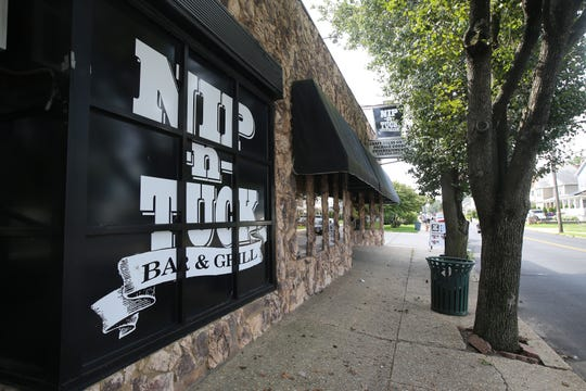 Exterior of Nip-n-Tuck Bar & Grill, a beloved Long Branch-based bar, grill and packaged goods establishment that's been in business for over 55 years, in Long Branch, NJ Monday August 5, 2019.