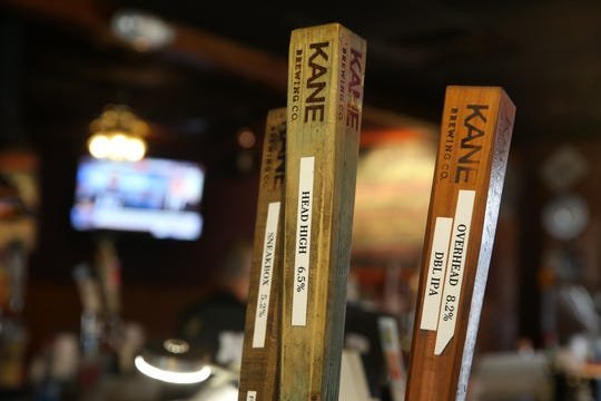 Beer taps inside Nip-N-Tuck Bar & Grill, a beloved Long Branch-based bar, grill and packaged goods establishment that's been in business for over 55 years, in Long Branch, NJ Monday August 5, 2019.