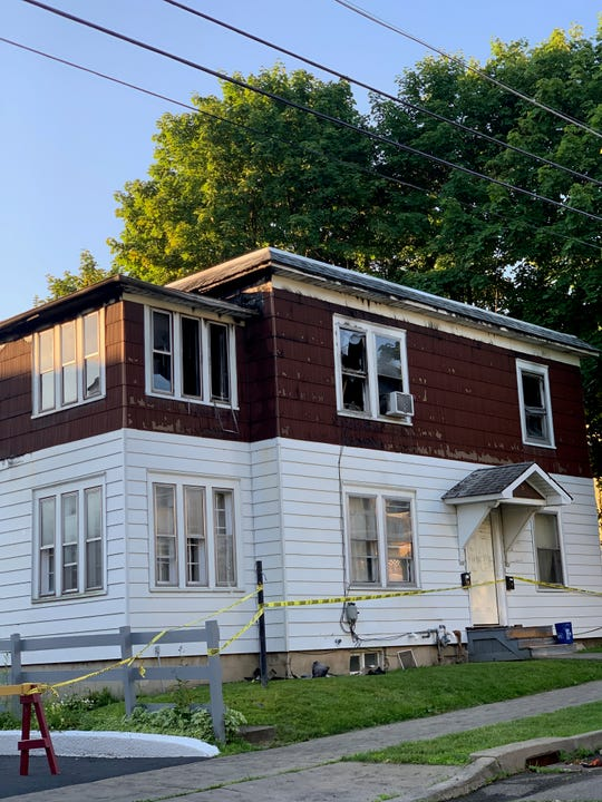 A fire broke out on June 25, 2019, on Cedar Street in Binghamton.