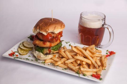 A South City Publick House burger.