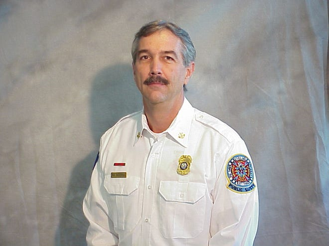 Richard Wiederhold, a retired Brevard County Fire Rescue district chief.
