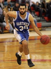 Jan Cocozziello as a player at Hartwick College during the 2008-09 season