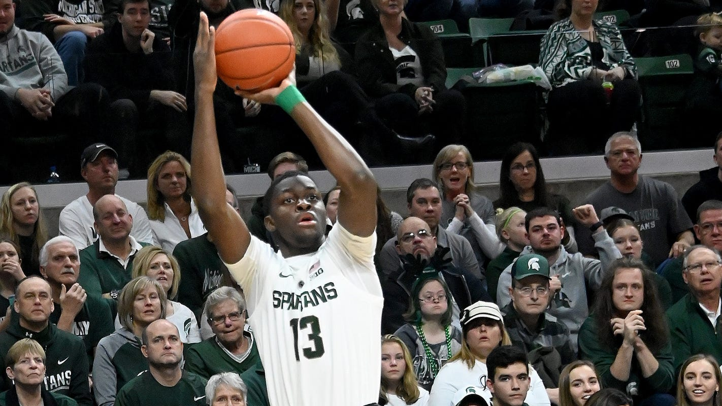 Izzo: Michigan State's Gabe Brown will be 'ready to go' after ankle sprain in Moneyball