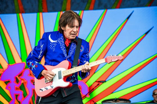 In this Sunday, May 5, 2019, file photo, John Fogerty performs at the New Orleans Jazz and Heritage Festival in New Orleans.