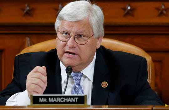 In this May 17, 2013 file photo, Rep. Kenny Marchant, R-Texas speaks on Capitol Hill in Washington.