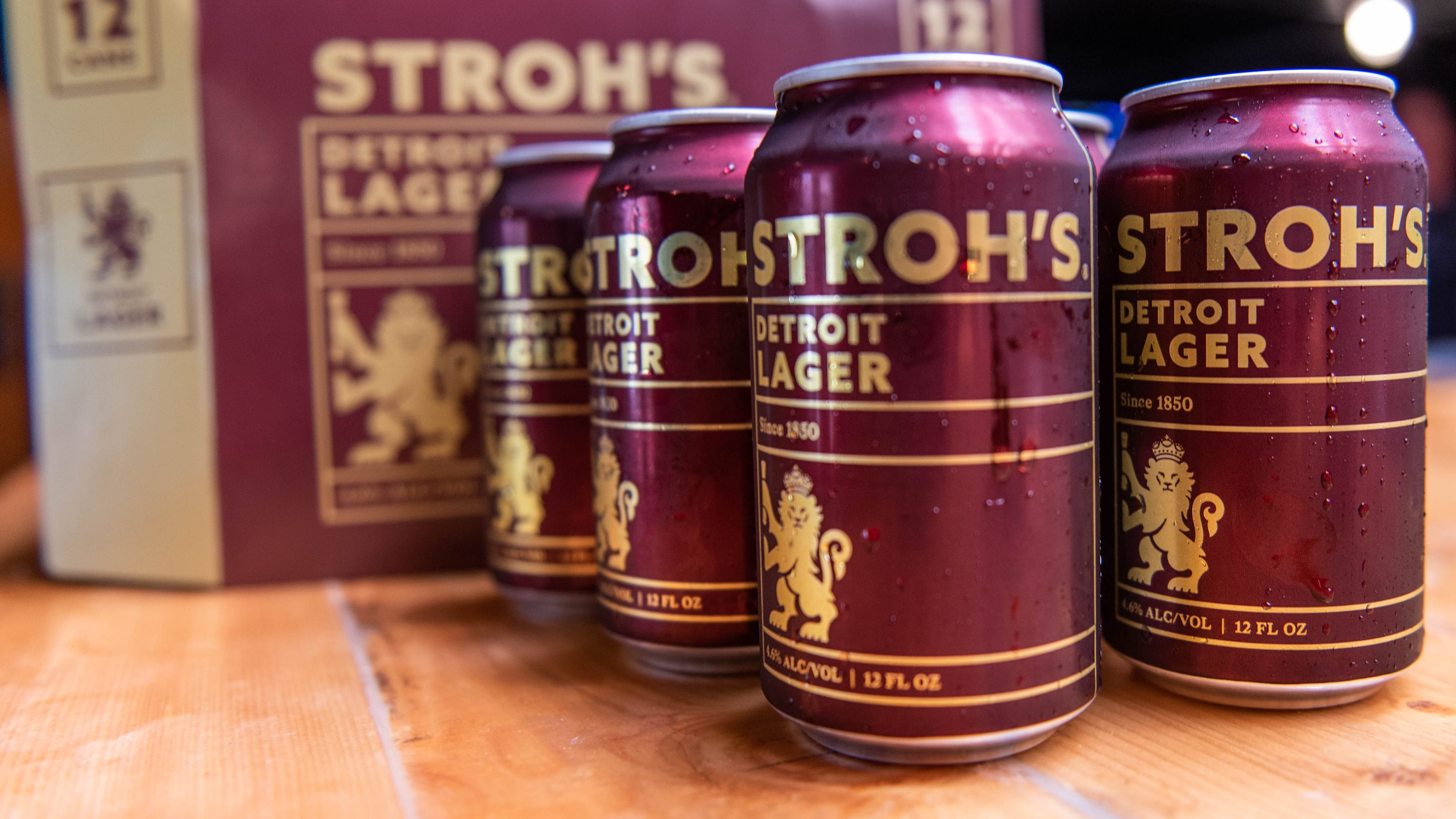 Stroh's Launches Locally Brewed Detroit Lager