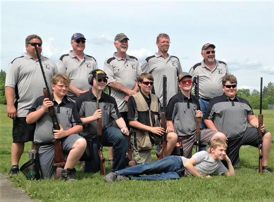 Members and coaches of the Newfield Youth Trap League finished high in the rankings of the New York State Clay Target League this spring.