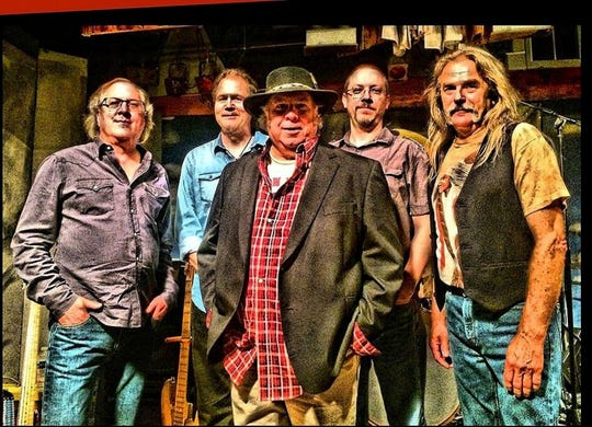 Sugar Mountain, a Neil Young tribute band, will play the Deane Center for the Performing Arts' Coolidge Theatre Saturday evening.