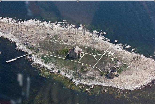 Pilot Island in July 2018.