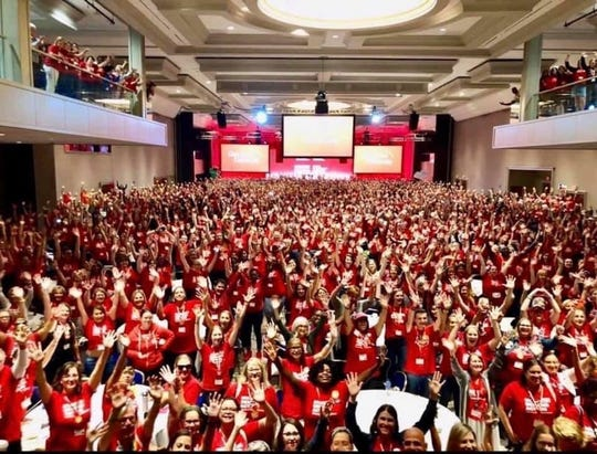 Moms Demand Action met in Washington, D.C. over the weekend for Gun Sense University,  a gathering of volunteer leaders.