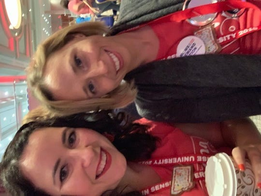 Tiffany Williams and Allison Franz of Montana attended the Moms Demand Action event in Washington, D.C.
