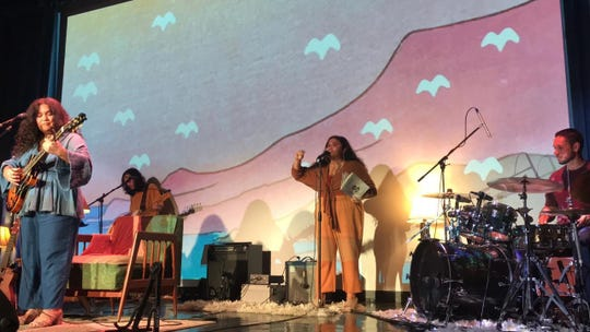 Local band Microchild released its first album on July 28. The band hosted an album release show, pictured, at Guam Museum on Aug. 4.