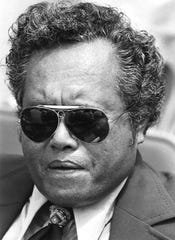 Thomas Remengesau, Sr. as photographed July 1977.