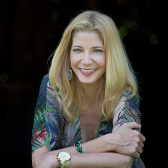 """Sex and the City"" author Candace Bushnell."