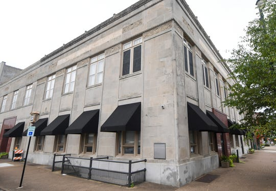 The old Regions Bank at 118 N. Liberty sits vacant in downtown Jackson.