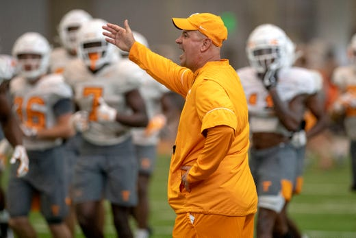 Is Tennessee football actually bigger this year, as Jeremy Pruitt says?