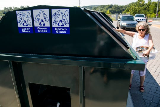 By the end of the month, Knox County residents will no longer be able to recycle glass at any of the county's seven convenience centers, including Carter Convenience Center, due to an abrupt change in a new county contract.