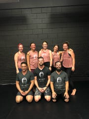 The Space team is as unique as it is powerful according to owner Mickal McMath. Anna Leach, Dominique Blanchard, Sassy Logan, Jade Hayes, Shari Blem, Chris Lavergne, Mickal McMath and Yates Breaux. Teacher who not pictured is Neil Gresham.