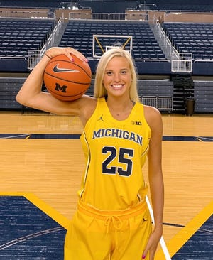 Hartland senior Whitney Sollom has been recruited by the University of Michigan's basketball team since eighth grade.