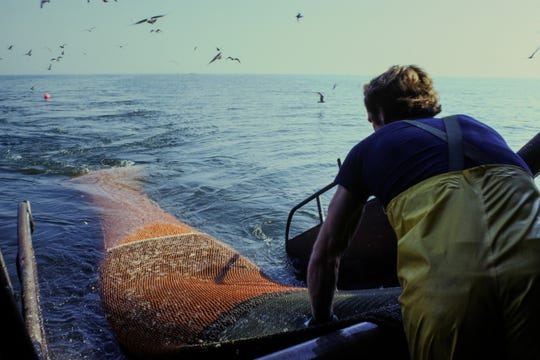 'Captured: The Commercial Fishing Photography of Jim Legault' pairs photography with data to tell the story of commercial fishing in Wisconsin.