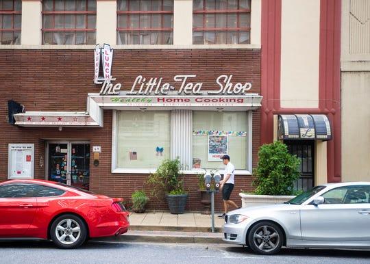 The Little Tea Shop on Monroe Ave, August 2, 2019.