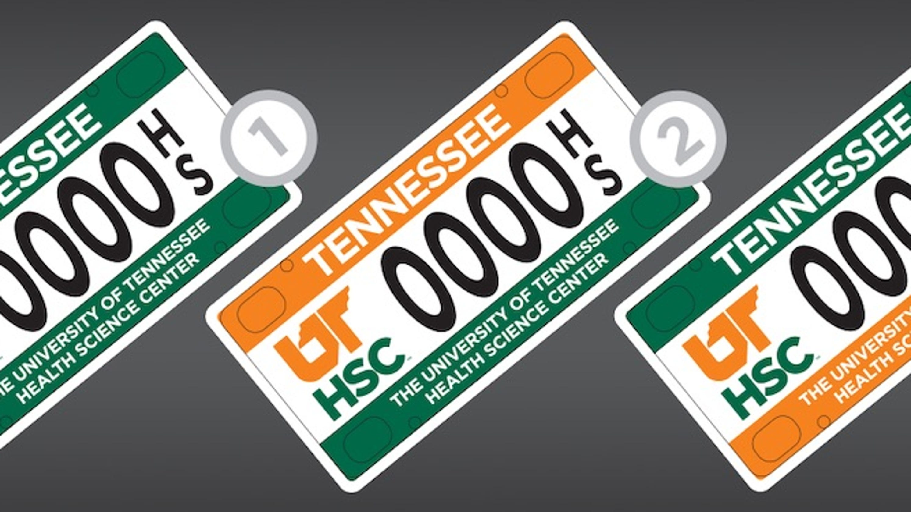 Want a UTHSC license plate? Campaign needs preorders to succeed