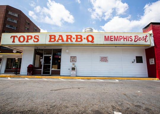 Tops BBQ  on Union Ave, August 2, 2019.
