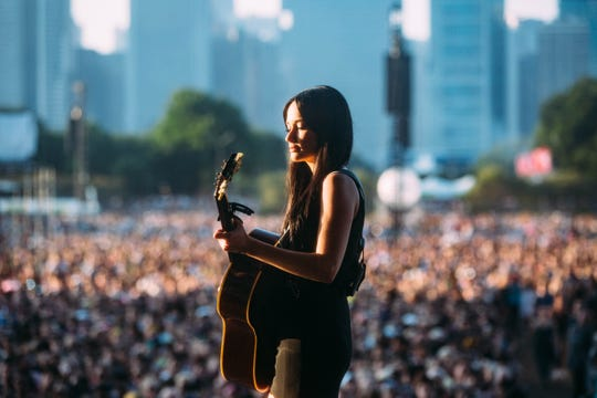 Kacey Musgraves performs Aug. 4 at Lollapalooza in Chicago.
