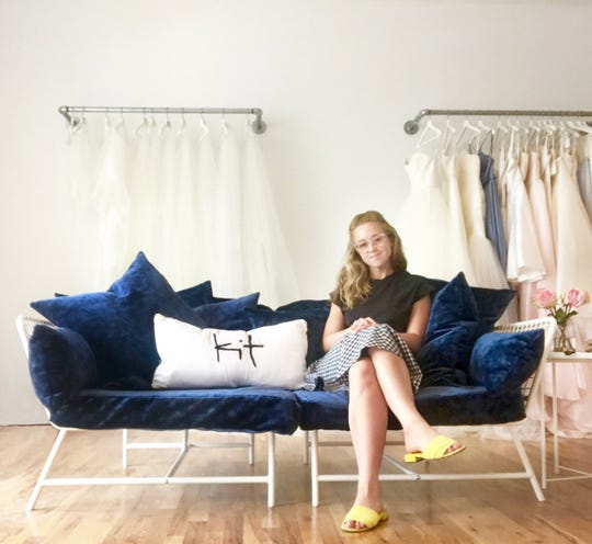 "Kristin ""Kit"" Hunzinger, a Dousman native, recently opened a bridal shop called Kit in Oconomowoc. The shop was previously in downtown Waukesha for about two years."