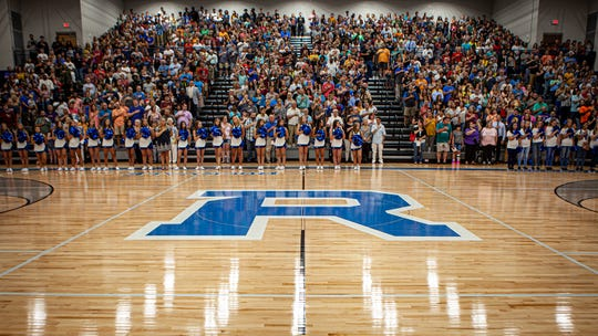 Opening ceremonies for Rockvale High were held Sunday, Aug. 4, 2019.