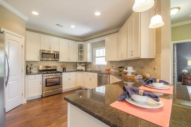 This kitchen is similar to those Goodall Homes will offer in The Knoll at Fairvue Cottages. The cottages will range from 1,411 square feet to more than 2,100 square feet.