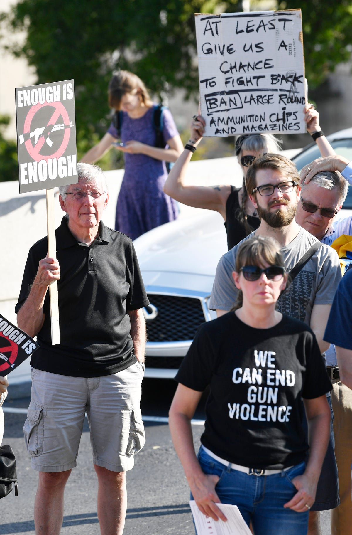 Mass shooting vigil: Nashville activists call on lawmakers to act on