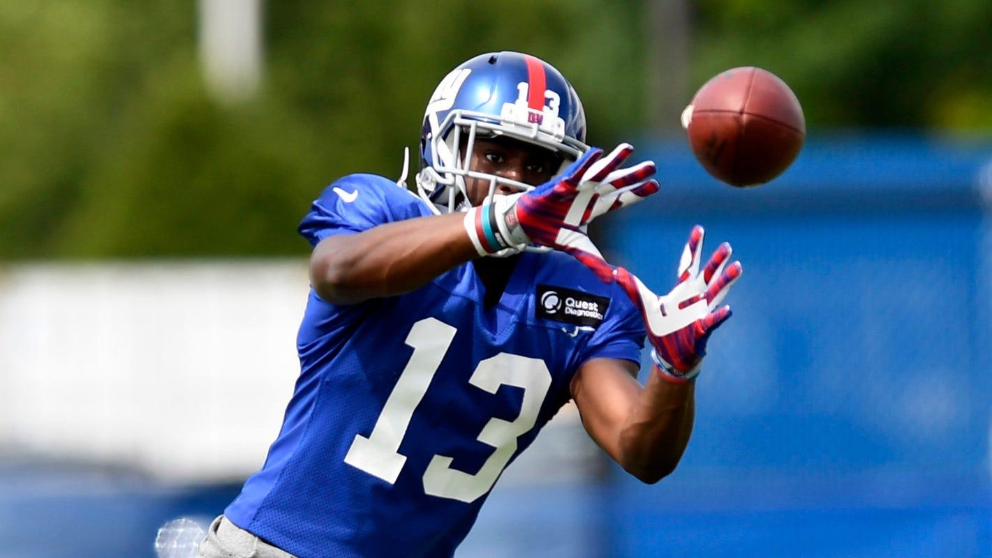 Reggie White Jr S Mindset To Stick With Ny Giants Catch On