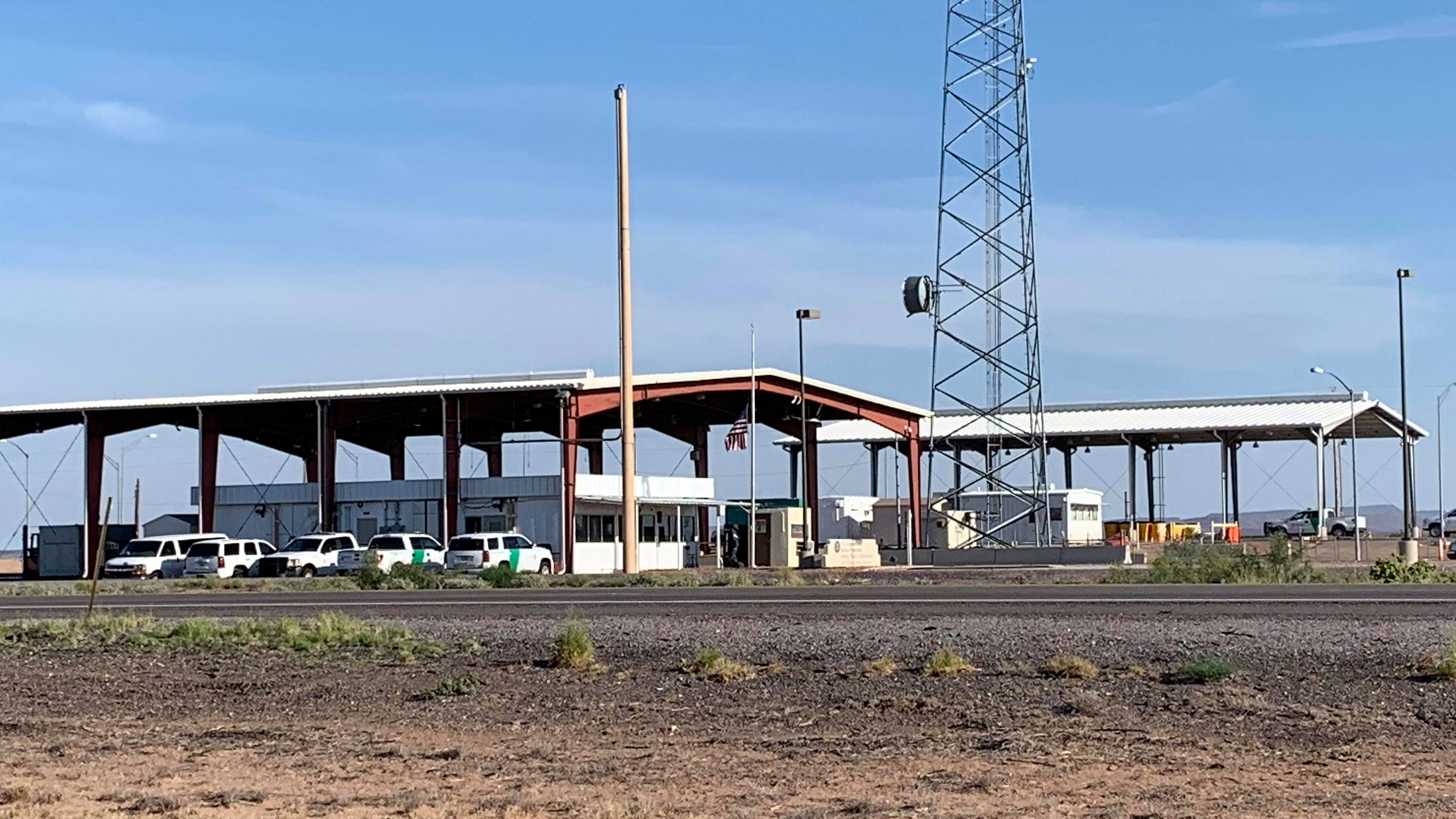 Border Patrol Checkpoints Reopen In New Mexico