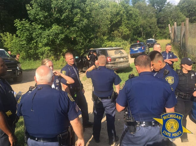 At least four agencies were involved in a Sunday, Aug. 4, 2019, search at Kensington Metropark in Milford.