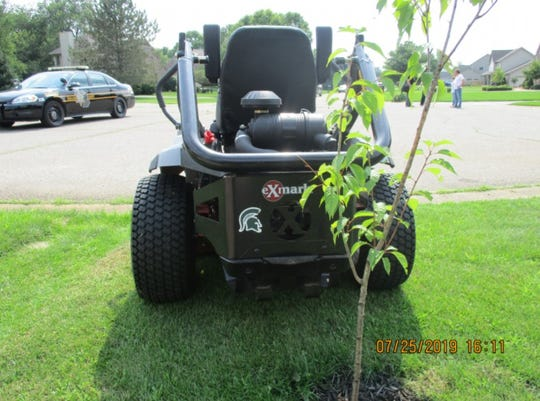 Oakland County deputies arrested someone recently because of a property line dispute. The man arrested was a lawn service employee.