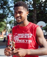 Milik Gantz of Fuhrman Industrial was named the Sweep The Streets MVP.