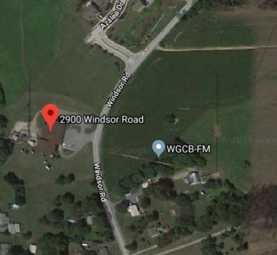 York Area Regional Police said a man was killed in a single-vehicle crash in the 2900 block of Windsor Road, Windsor Township, Monday, Aug. 5. Photo courtesy of Google Maps.