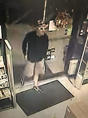 Hanover Police are searching for a man who they say robbed a business on Saturday, Aug. 3. Photo courtesy of Hanover Police.