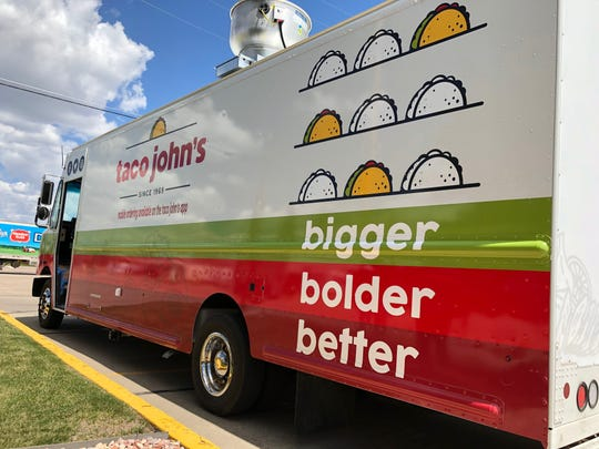 Taco John's, the national taco chain, has launched its first food truck in the company's hometown, Cheyenne, Wyo.