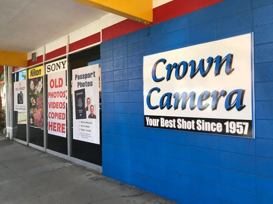 Crown Camera has been at the corner of Market and Tehama streets since 1964.