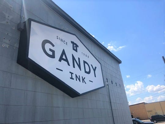 Gandy Ink is located at 2027 Industrial Avenue in San Angelo